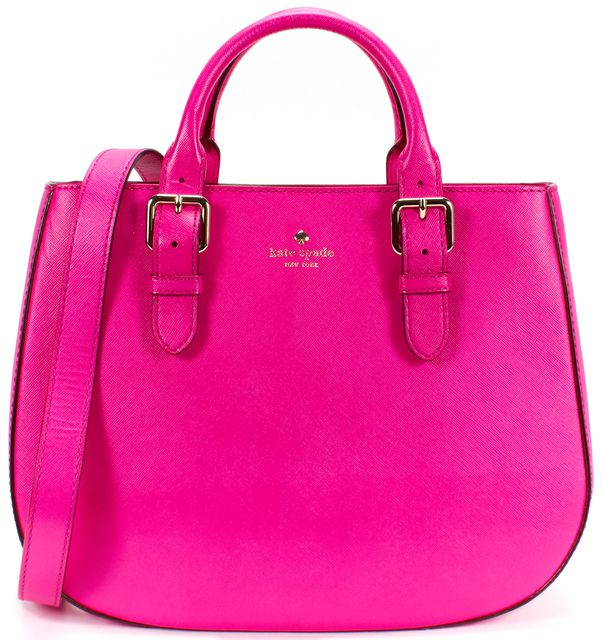 KATE SPADE Pink Saffiano Leather Top Handle Bag