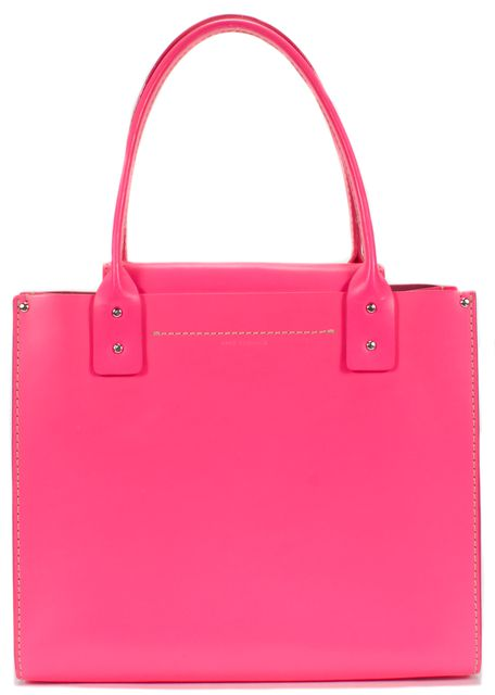 KATE SPADE Hot Pink Leather Square Top Handle Bag