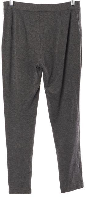 KATE SPADE Gray Side Zipper Casual Pants