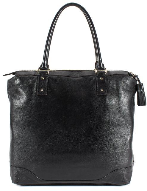 KATE SPADE Black Pebbled Leather Large Tote Shoulder Bag
