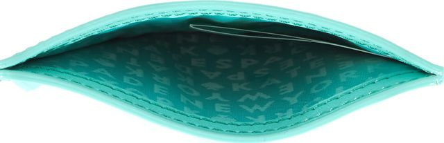 KATE SPADE Fresh Air Blue Leather Graham Live Colorfully Card Case