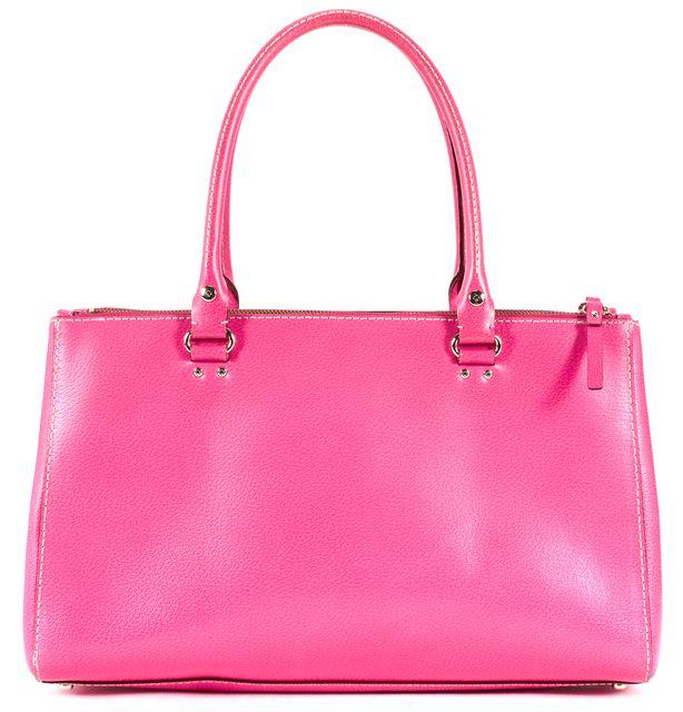 KATE SPADE Hot Pink Leather Gold Tone Hardware Shoulder Bag