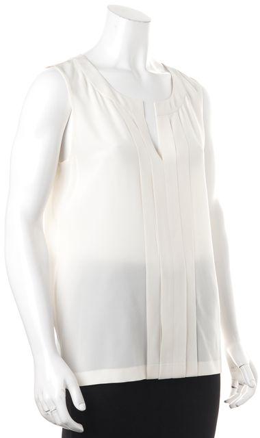 KATE SPADE Ivory Silk Blouse Top