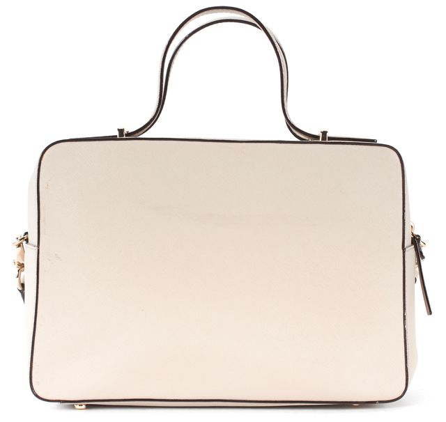 KATE SPADE Taupe Saffiano Leather Gold Hardware Satchel