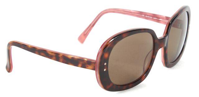 KATE SPADE Brown Tortoiseshell Acetate Gladys Round Sunglasses