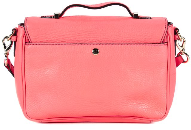 KATE SPADE Pink Pebbled Leather Gold Hardware Adjustable Strap Crossbody