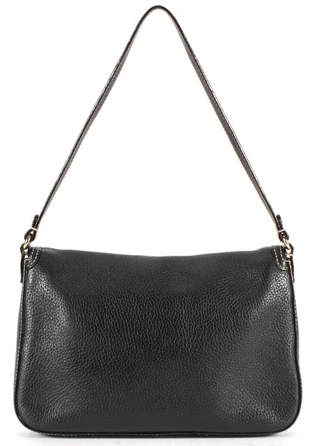 KATE SPADE Black Pebbled Leather Shoulder Bag