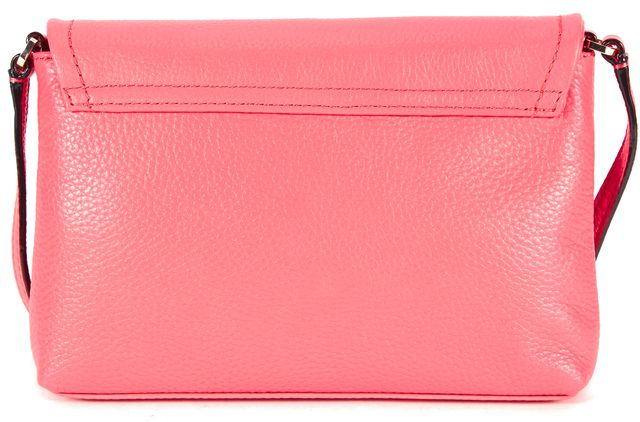 KATE SPADE Hot Pink Pebbled Leather Crossbody