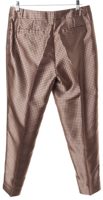 KATE SPADE Pink Square 100% Polyester Trousers Pants