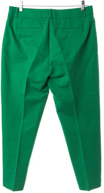 KATE SPADE Emerald Green Cropped Pants