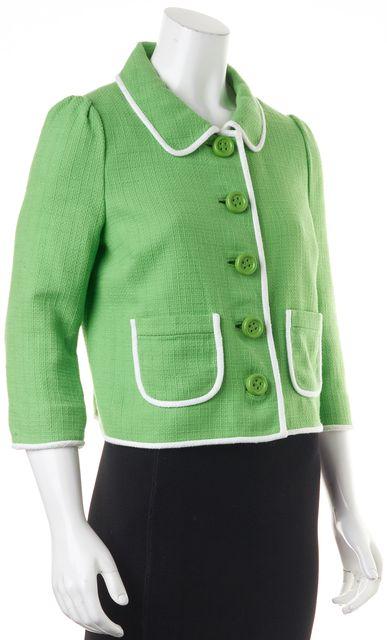 KATE SPADE Lime Green Blazer Jacket