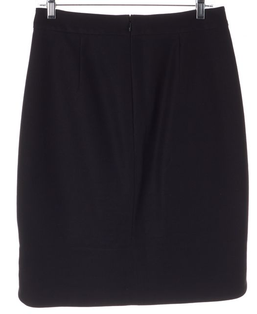 KATE SPADE Black Knee-Length Straight Skirt