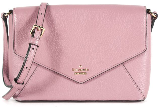 KATE SPADE Pale Purple Spencer Court-Large Monday Crossbody