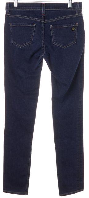 KATE SPADE Blue Stretch Cotton Dark Wash Low Rise Skinny Jeans