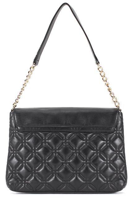 KATE SPADE Black Quilted Leather Chain Strap Charlize Shoulder Bag