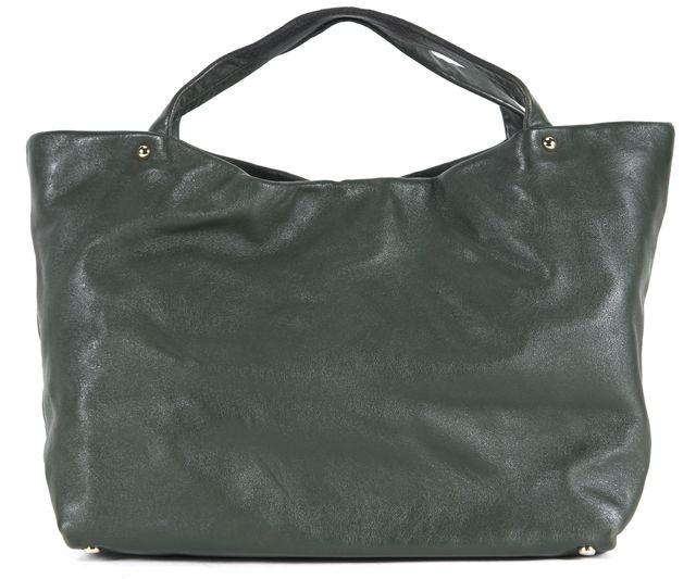 KATE SPADE Pine Green Leather Tote Shoulder Bag