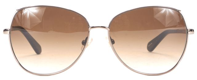KATE SPADE Brown Gradient Lens Candida Square Sunglasses w/ Case