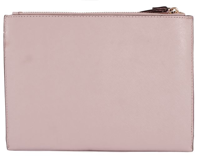 KATE SPADE Pink Bow Leather Wristlet
