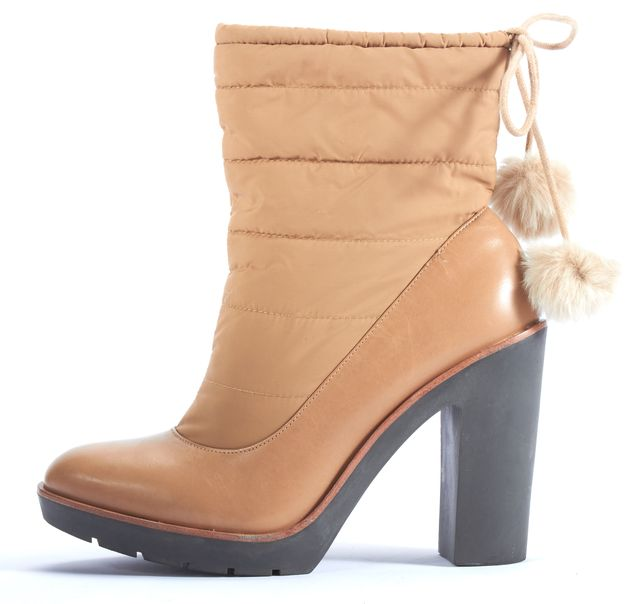 KATE SPADE Beige Ankle Winter Boots