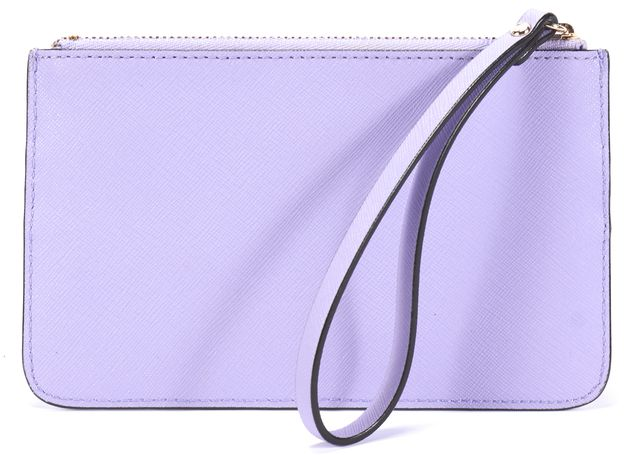 KATE SPADE Purple Leather Wristlet