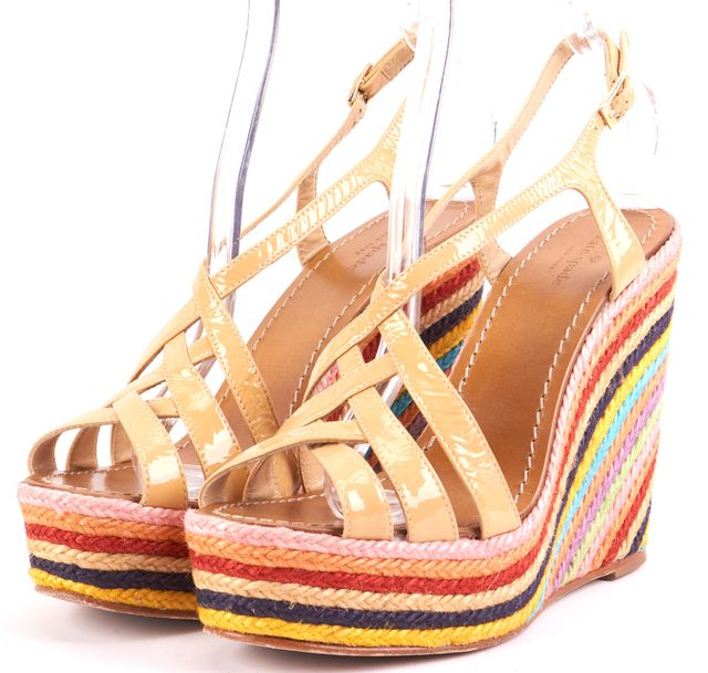 KATE SPADE Multi-color Patent Leather Platforms & Wedges