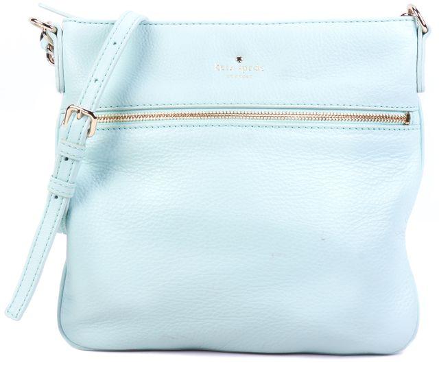 KATE SPADE Mint Green Leather Satchel Cross-body Handbag