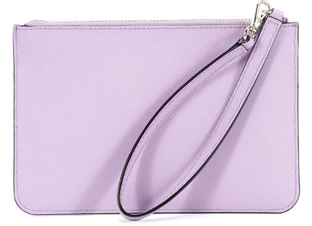 KATE SPADE Purple Lavender Leather Wristlet Waist Bag