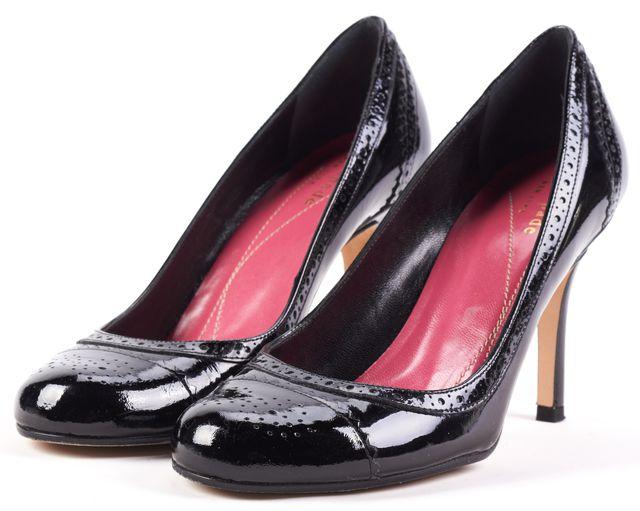 KATE SPADE Black Kelly Patent Leather Pump Heels