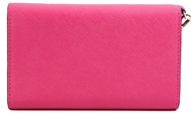 KATE SPADE Magenta Pink Leather Wallet