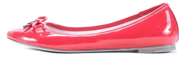 KATE SPADE Red Patent Leather Flats