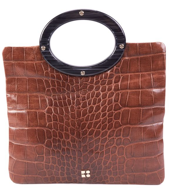 KATE SPADE Brown Leather Top Handle Bags