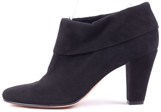 KATE SPADE Black Suede Ankle Bootie