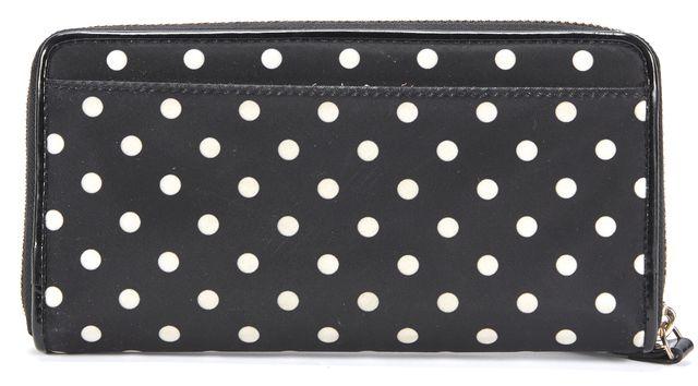 KATE SPADE Black White Polkadot Wallet