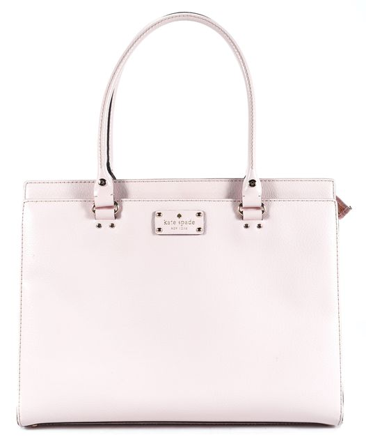 KATE SPADE Pale Pink Leather Shoulder Bag Handbag