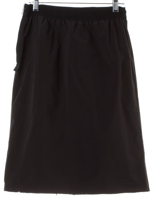 LANVIN Black Straight Skirt