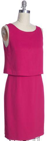 L.K. BENNETT Pink Tiered Dress