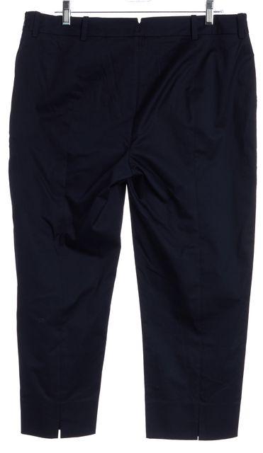 L.K. BENNETT Navy Blue Capris Pants