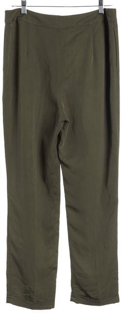 L.K. BENNETT Green Casual Pants
