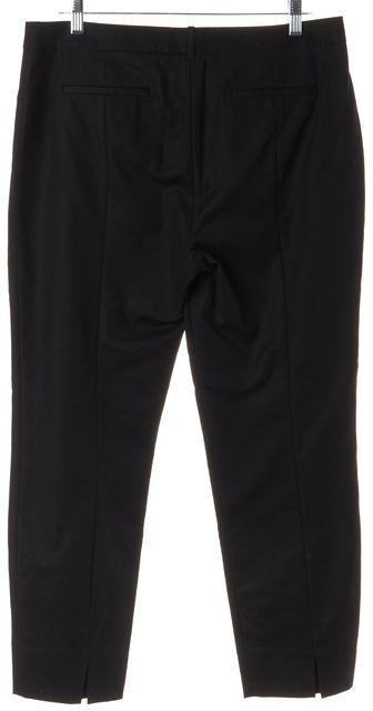 L.K. BENNETT Black No Pocket Cropped Dress Pants