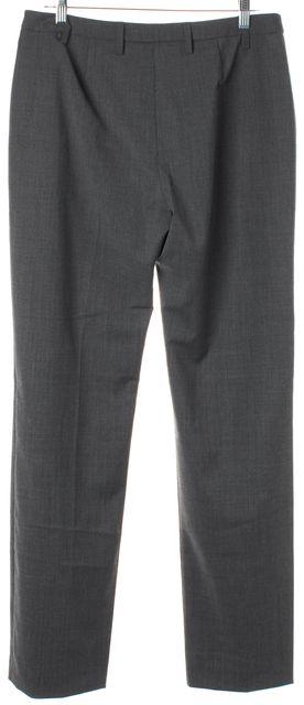 L.K. BENNETT Melange Gray Erica Trouser Dress Pants