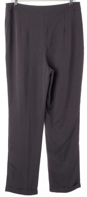 L.K. BENNETT Charcoal Gray Melodie Trouser Dress Pants