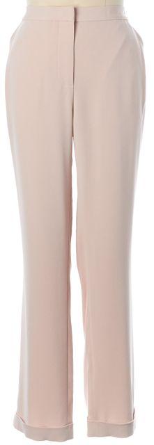 L.K. BENNETT Barley Pink Dolly Cuffed Trousers Dress Pants