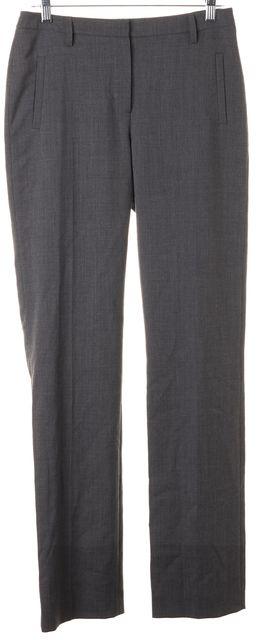 L.K. BENNETT Melange Gray Erica Pleated Trouser Dress Pants