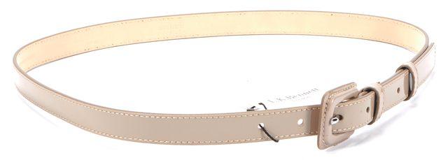 L.K. BENNETT Beige Patent Leather Belt