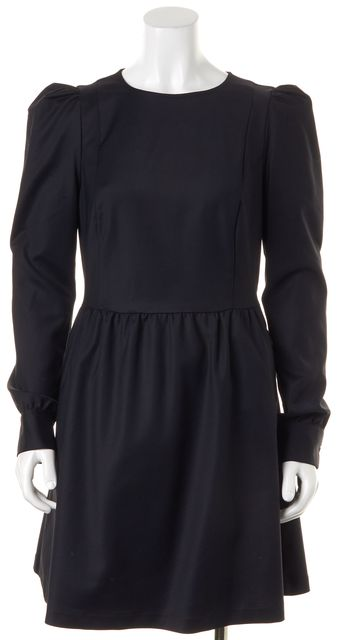 LOVE MOSCHINO Black Fit & Flare Dress