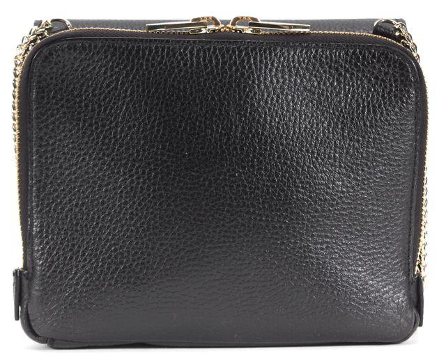 LOEFFLER RANDALL Black Pebbled Leather Crossbody Bag