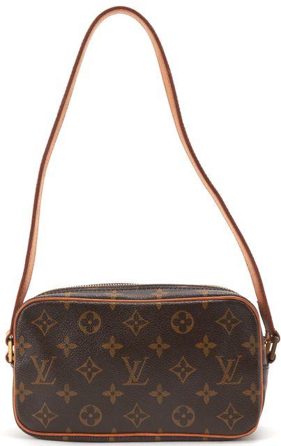 LOUIS VUITTON Brown Monogram Canvas Pochette Cite Shoulder Handbag