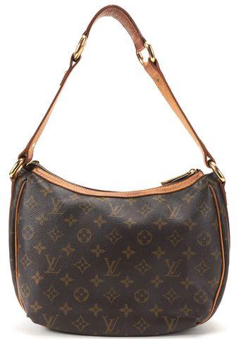 LOUIS VUITTON Brown Monogram Canvas Tulum PM Shoulder Handbag