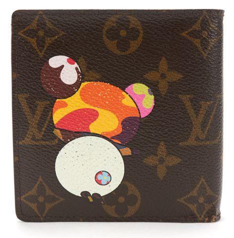LOUIS VUITTON Brown Monogram Murakami Panda Wallet