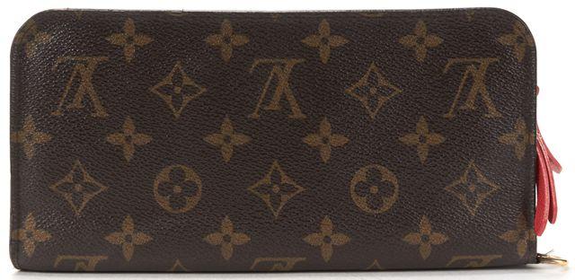 LOUIS VUITTON Brown Monogram Canvas Insolite Long Wallet